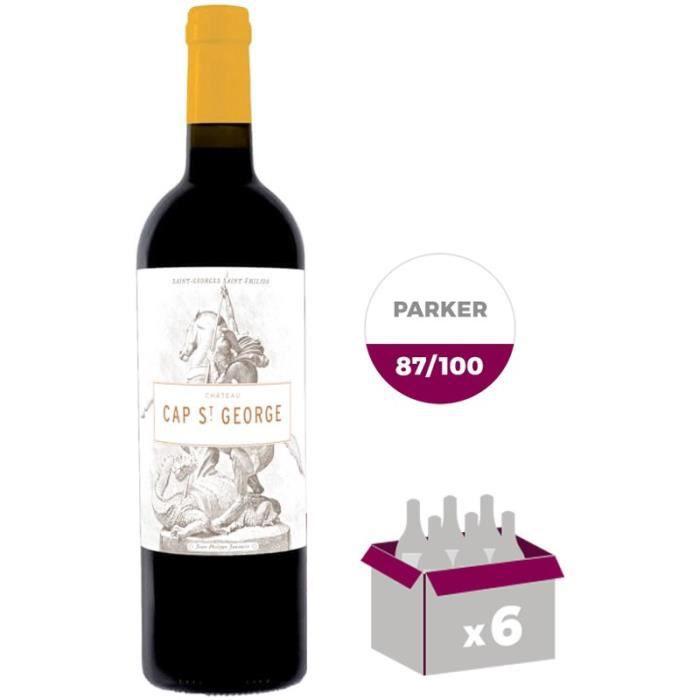CHÂTEAU CAP SAINT GEORGES 2014 - Saint George Saint Emilion - Vin Rouge - 75 cl x6