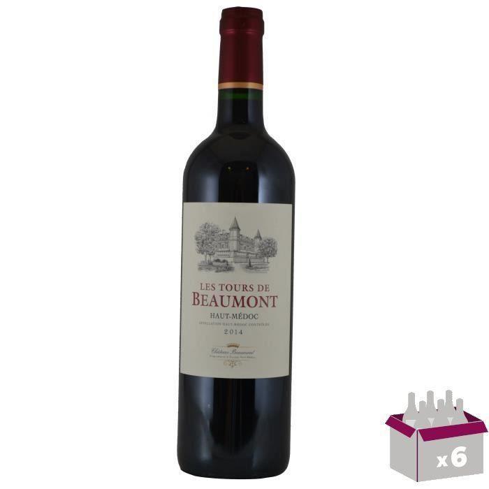 Château Tour de Beaumont - Haut-Médoc rouge - Millésime 2014 x 6VIN ROUGE