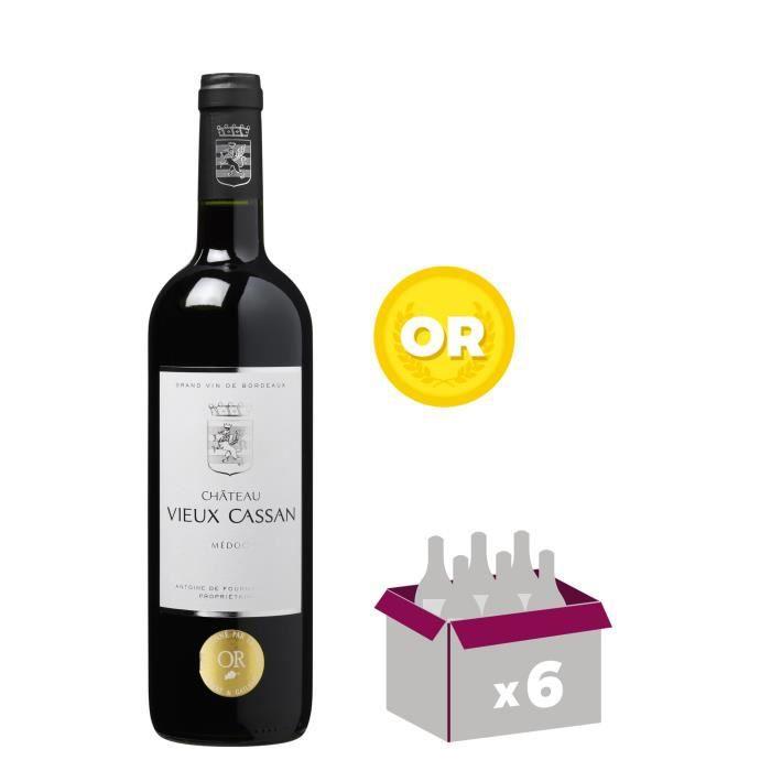 CHÂTEAU VIEUX CASSAN 2014 Médoc Vin de Bordeaux - Rouge - 75 clVIN ROUGE