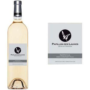 VIN BLANC Papillon des Launes Côtes de Provence 2014 - Vin b