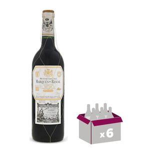 VIN ROUGE MARQUES DE RISCAL Reserva Vin d'Espagne - Rouge -
