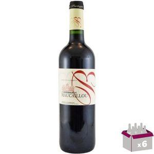 VIN ROUGE Bordeaux de Maucaillou Bordeaux Supérieur 2014 - V