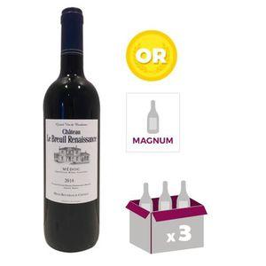 VIN ROUGE MAGNUM CHÂTEAU LE BREUIL DE RENAISSANCE Vignobles