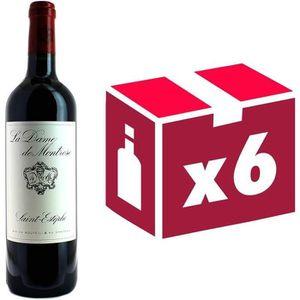 VIN ROUGE La Dame de Montrose  Grand Vin de Bordeaux Second