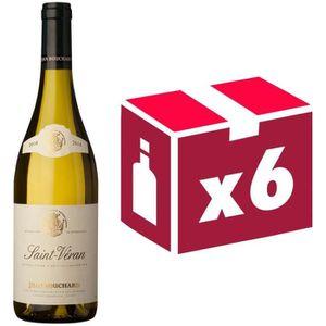 VIN BLANC Jean Bouchard Saint Véran 2014 - Vin blanc x6