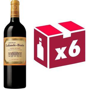 VIN ROUGE Château Lalande Borie Grand Vin de Bordeaux Saint