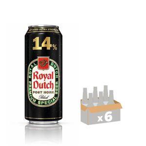 BIÈRE ROYAL DUTCH POST HORN  Lot de 6 Canettes de Bière