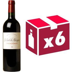 VIN ROUGE Seuil de Mazeyres Pomerol 2014 - Vin rouge x6