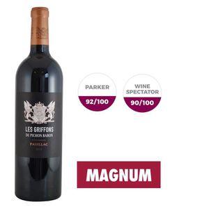 VIN ROUGE Magnum Griffons de Pichon Baron 2014 Pauillac Gran
