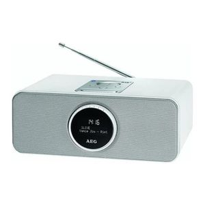 ENCEINTE NOMADE AEG SR 4372WH DAB Enceinte Radio Bluetooth - Câble