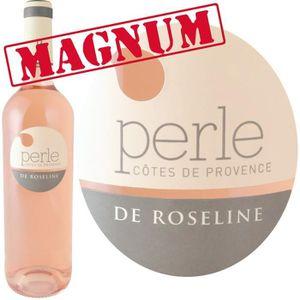 VIN ROSÉ Magnum Perle de Roseline 2014 AOP Côtes de Provenc