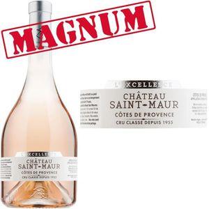 VIN ROSÉ Magnum Château de St Maur 2015 L'Excellence Côtes