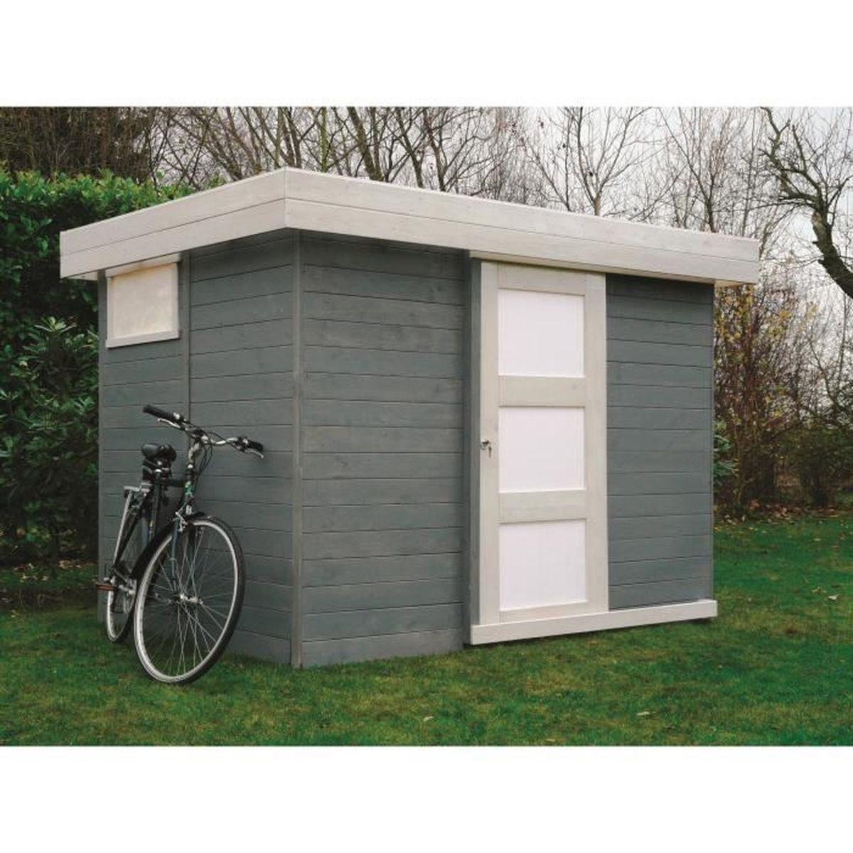 Solid abri de jardin lund 267 2x187 4cm achat vente for Abris de jardin solid belgique