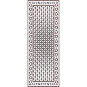 TAPIS DE COULOIR UTOPIA Tapis de couloir carreaux de ciment 80x300