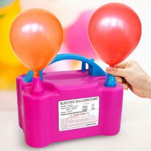 BALLON DÉCORATIF  MISS - 600W Rose Gonfleur Ballon Electrique Pompe