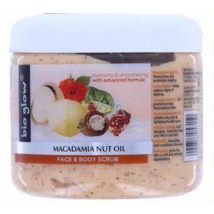 GOMMAGE CORPS Bio Glow Huile de Noix de Macadamia Gommage Visage