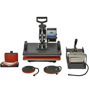 PRESSE À CHAUD Combo 5 en 1 pour Machine de Presse à Chaud PixMax