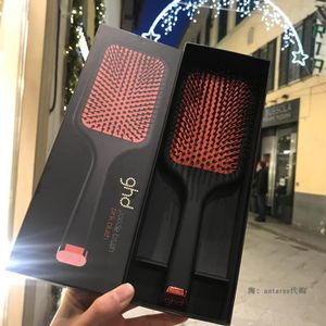 FER A LISSER GHD Massages Peigne GHD paddle brush-Rouge