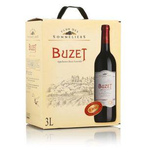 VIN ROUGE Club des Sommeliers Buzet - Vin rouge du Sud Ouest