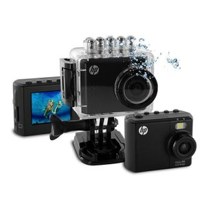 CAMÉSCOPE NUMÉRIQUE HP AC-150 Caméra Sport Full HD - caisson étanche