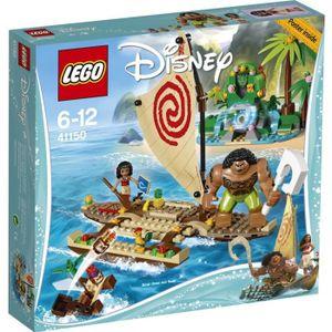 ASSEMBLAGE CONSTRUCTION LEGO®  Disney Vaiana 41150 Le Voyage en Mer de Vai