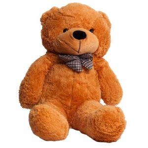 PELUCHE TEDDY Ours en Peluche Beige 150cm
