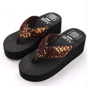 Femme tongs décontractées chaussure femme plein air sandales Marque De Luxe plages femme pantoufles d'été sand dssx005marron36 1nxiMWM