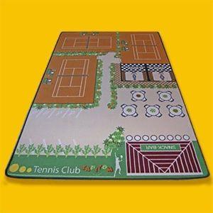 TAPIS DE JEU Tapis jeu enfant 130 X 200 cm TENNIS