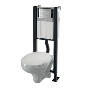 WC - TOILETTES WIRQUIN Pack complet Bati Smart Rock universel One
