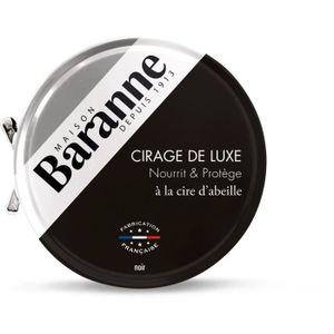 CIRAGE ET ENTRETIEN BARANNE Cire pour Chaussures Luxe Noir - 75ml