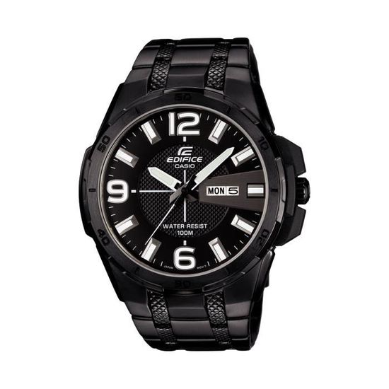1avuef Large Bracelet 104bk Edifice Homme Casio Noire Efr Montre Couleur J3TlF1Kc