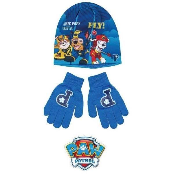 55df2c93aeceb PAT'PATROUILLE Lot de Bonnet + gants - Enfant Garçon - Achat / Vente ...