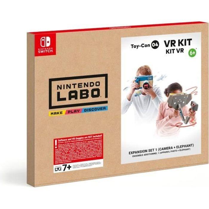 Nintendo Labo™ - Kit VR Toy-Con 04 Ensemble Additionnel 1 ( Appareil photo + Éléphant )