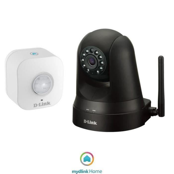 Mydlink Home Kit Caméra de surveillance IP DCS-5010L + Détecteur de mouvement