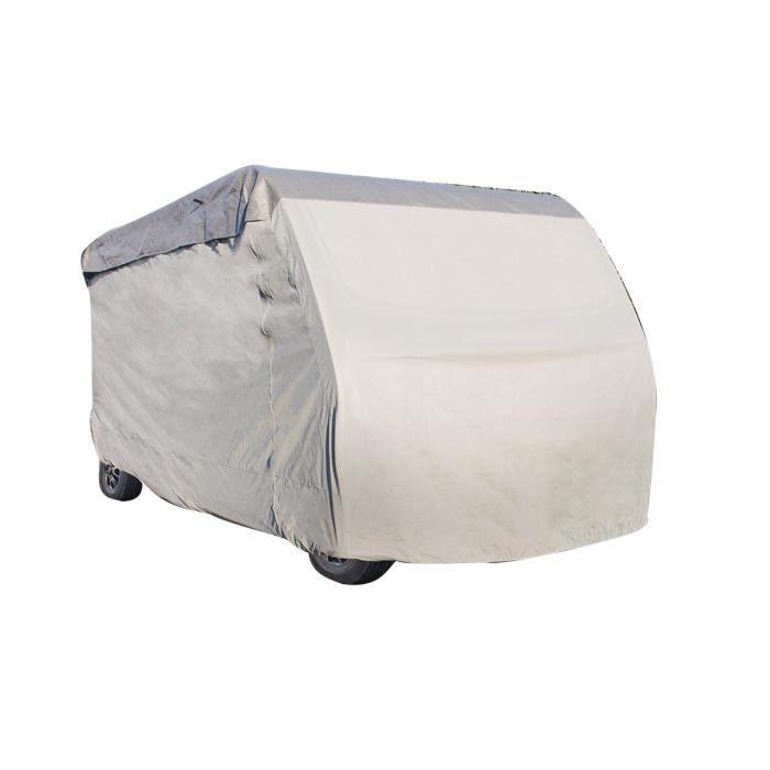 Housse pour Camping-Car 710 x 235 x 270 cm - Gris