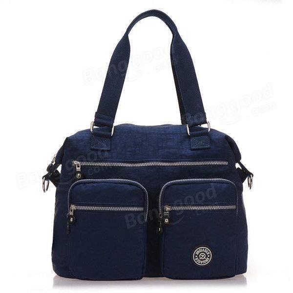 SBBKO3367Femmes sacs à main en nylon occasionnels sacs à bandoulière imperméable poche multiples crossbody extérieure sacs Bleu