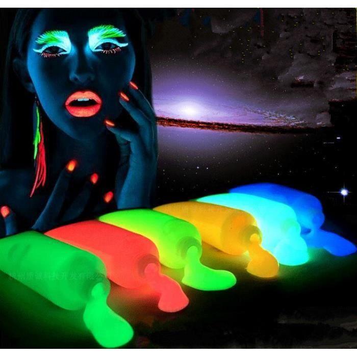 multicolore lot de 10 soir e fluo tubes de peinture. Black Bedroom Furniture Sets. Home Design Ideas