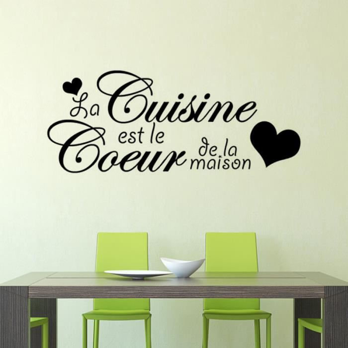 cr ative stickers muraux pour cuisine d coration la maison fond d 39 cran achat vente. Black Bedroom Furniture Sets. Home Design Ideas