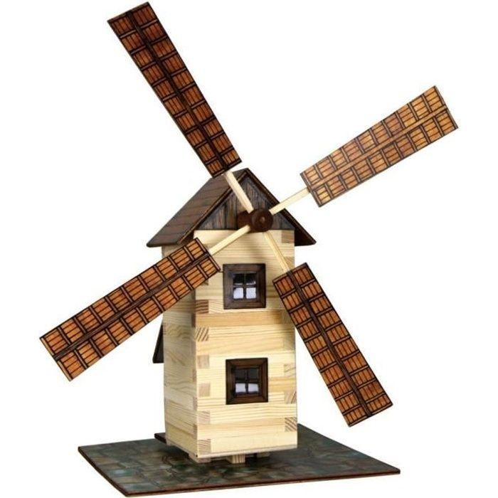 walachia moulin vent bois kit de construction maquette chelle 1 lgb 1 32 achat vente. Black Bedroom Furniture Sets. Home Design Ideas