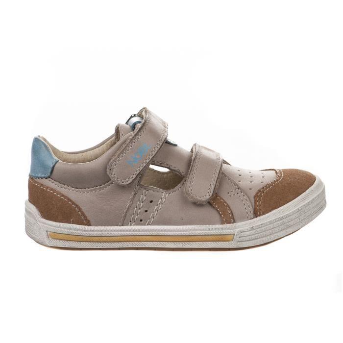 Chaussures à lacet garçon - NOEL - Beige - RAEL - Millim