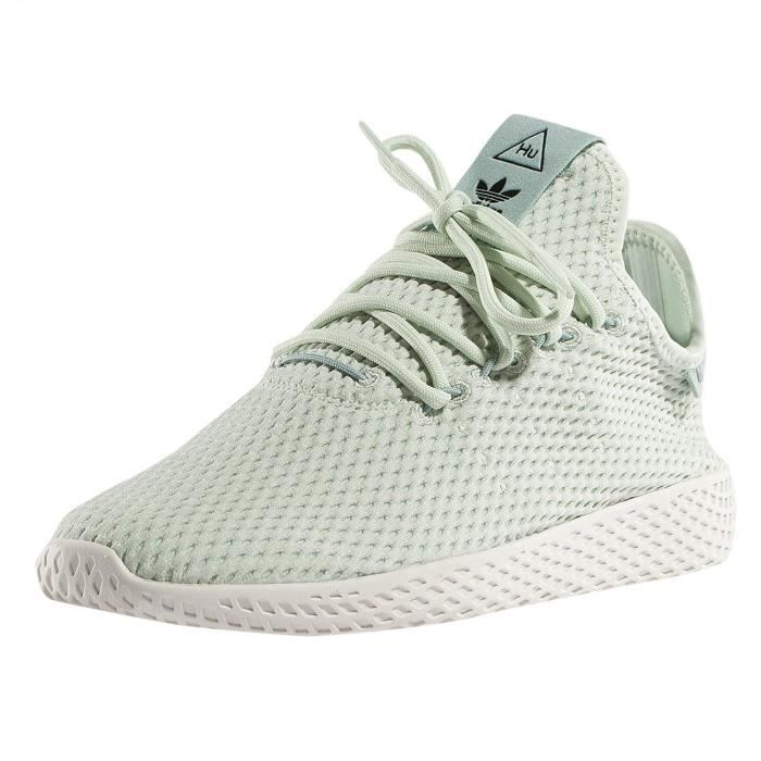 official photos abe90 cd2f6 adidas Unisex-Kinder Chaussures   Baskets PW Tennis HU J