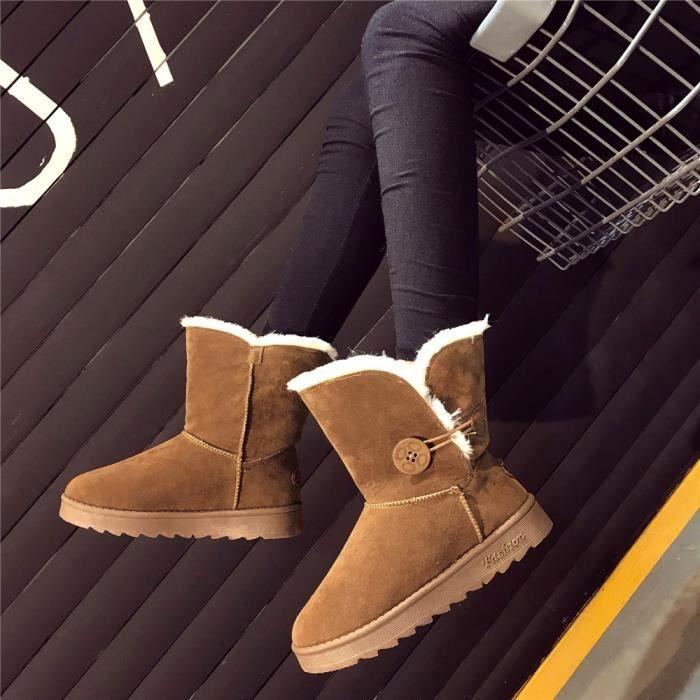 Botte De Neiges Haut Qualité Chaussure Poids Léger Taile 35-40
