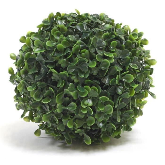 Plante artificielle boule achat vente pas cher for Plante artificielle prix