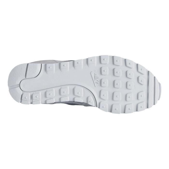 Chaussures Nike MD Runner 2 BR gris blanc femme 364032,