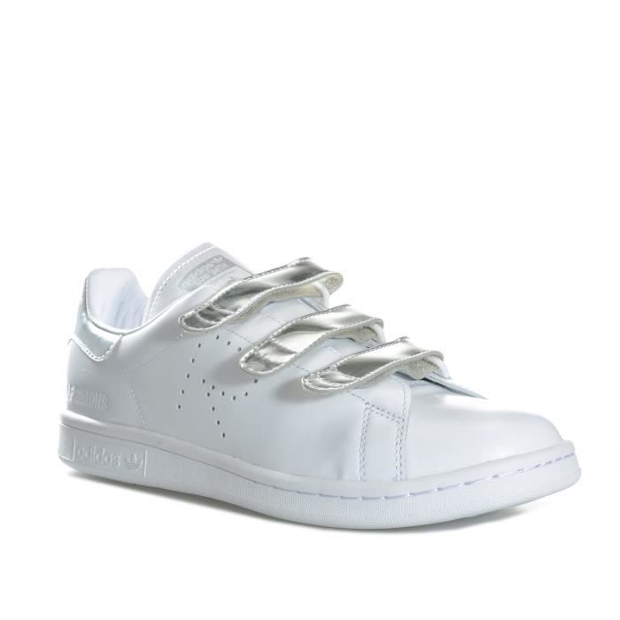 Baskets Stan Comfort Smith En Blanc Simons Adidas Originals Homme Pour Raf rwxqZr6IO