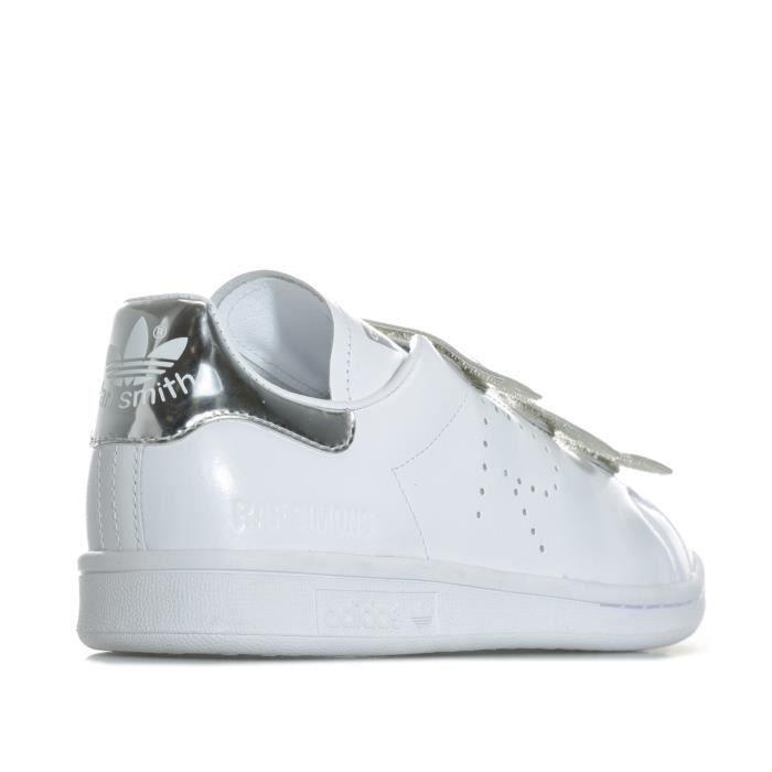Homme Pour Stan Originals Raf Smith Comfort Adidas Blanc En Baskets Simons gw80q