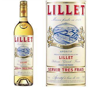 Apéritif à base de vin Lillet Blanc (75cl)