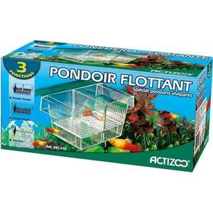 PONDOIR - BAC D'ÉLEVAGE Pondoir pour poisson - 3 en 1 + ventouse
