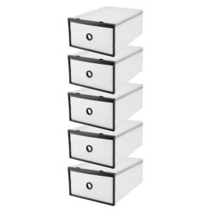 PETIT MEUBLE RANGEMENT  5Pcs boîtes de rangement organisateur de boîte à c