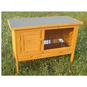 CLAPIER Clapier grand espace / Cage à lapin en bois / Caba